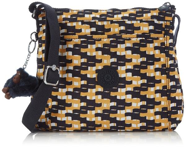 Kipling Moyelle Basket W Print กระเป๋าสะพายน่ารัก ขนาด 25 L x 18 H x 7 W cm