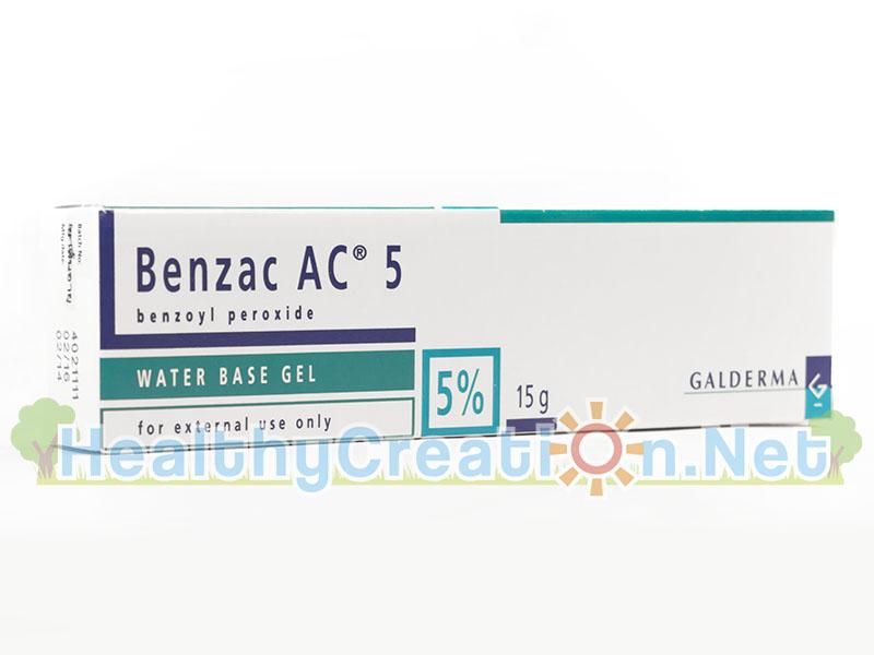 Benzac AC 5% เบนแซค เอซี 5% ทำหน้าที่ในการฆ่าเชื้อโรค ซึ่งเป็นสาเหตุของสิวอักเสบอย่างได้ผล