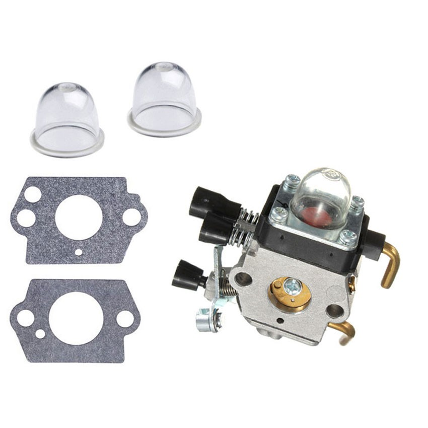 Carburettor & Air Primer bulb Gasket for STIHL FS38 FS45 FS46 FS55 FS55R FS55RC KM55 trimmers cutters