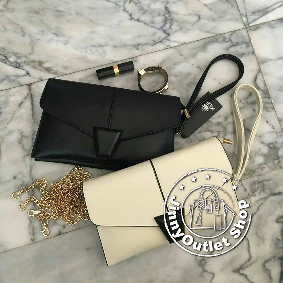 KEEP ( Clutch Bag With Strap Size L )
