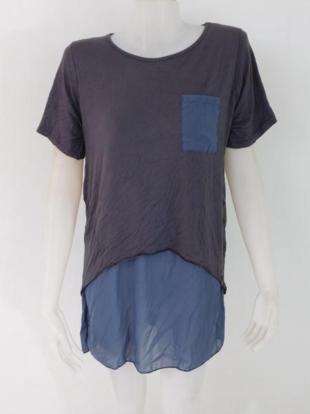 955049 ขายส่งเสื้อผ้าแฟชั่น ผ้ายืดเนื้อนิ่มผ้าใส่สบายค่ะ รอบอก 40 นิ้วค่ะ