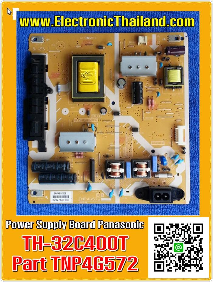 Power Supply Panasonic TH-32C400T TH-32A410T TH-32D400T TC-32A400L #TNP4G572EB