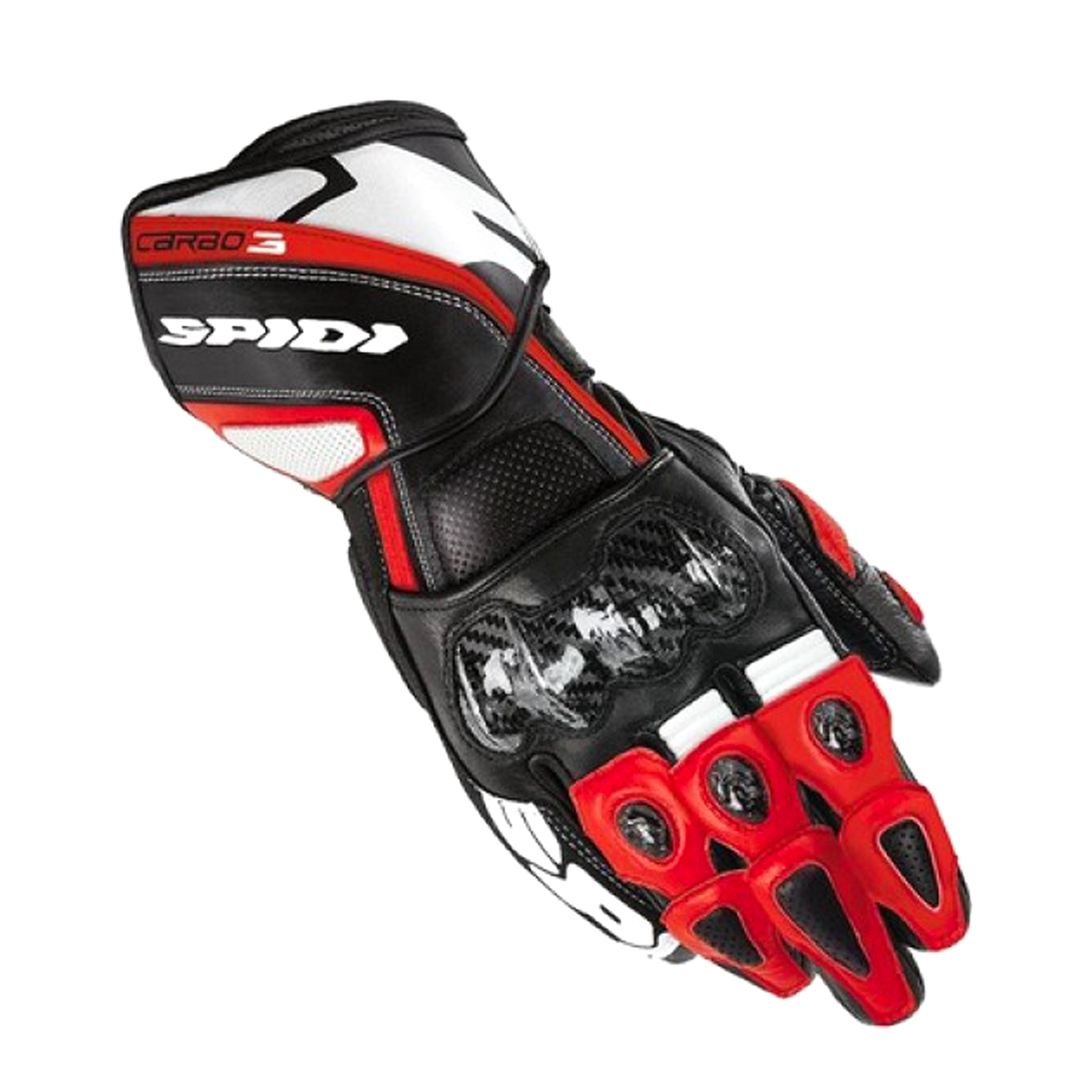 SPIDI CARBO 3 LEATHR - BLACK/RED