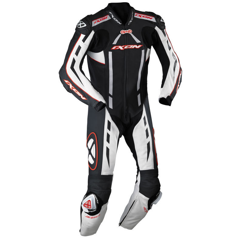 IXON PULSAR AIR RACING SUIT - BLACK/WHITE/RED