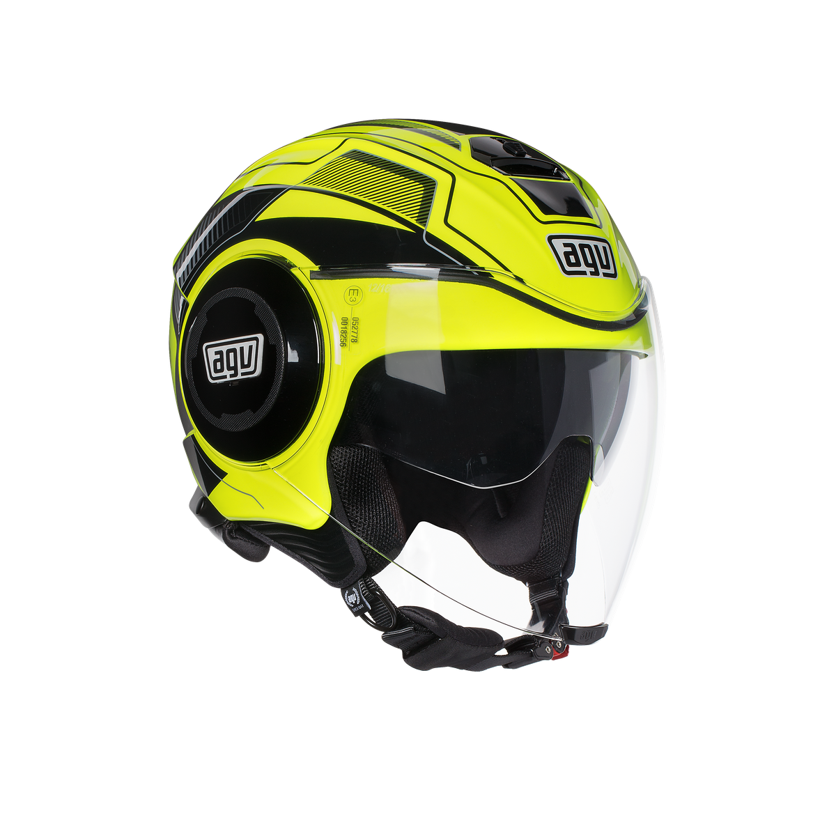 AGV FLUID SOHO YELLOW FL BLACK