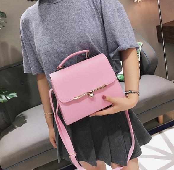 กระเป๋าสะพายข้างผู้หญิง ABA Lady (สีชมพู)