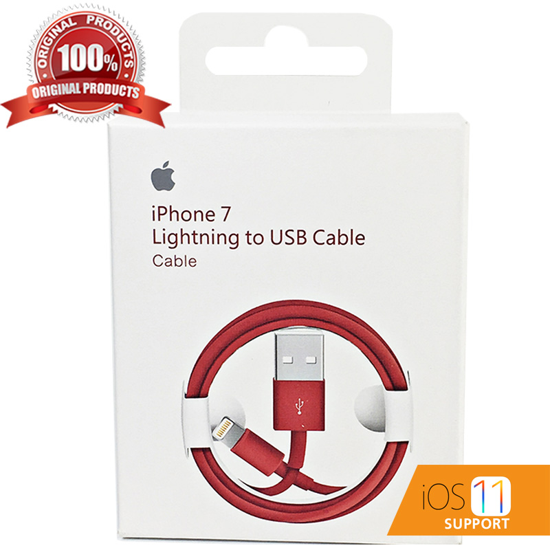 สายชาร์จ iPhone ของแท้ Foxconn Red Edition