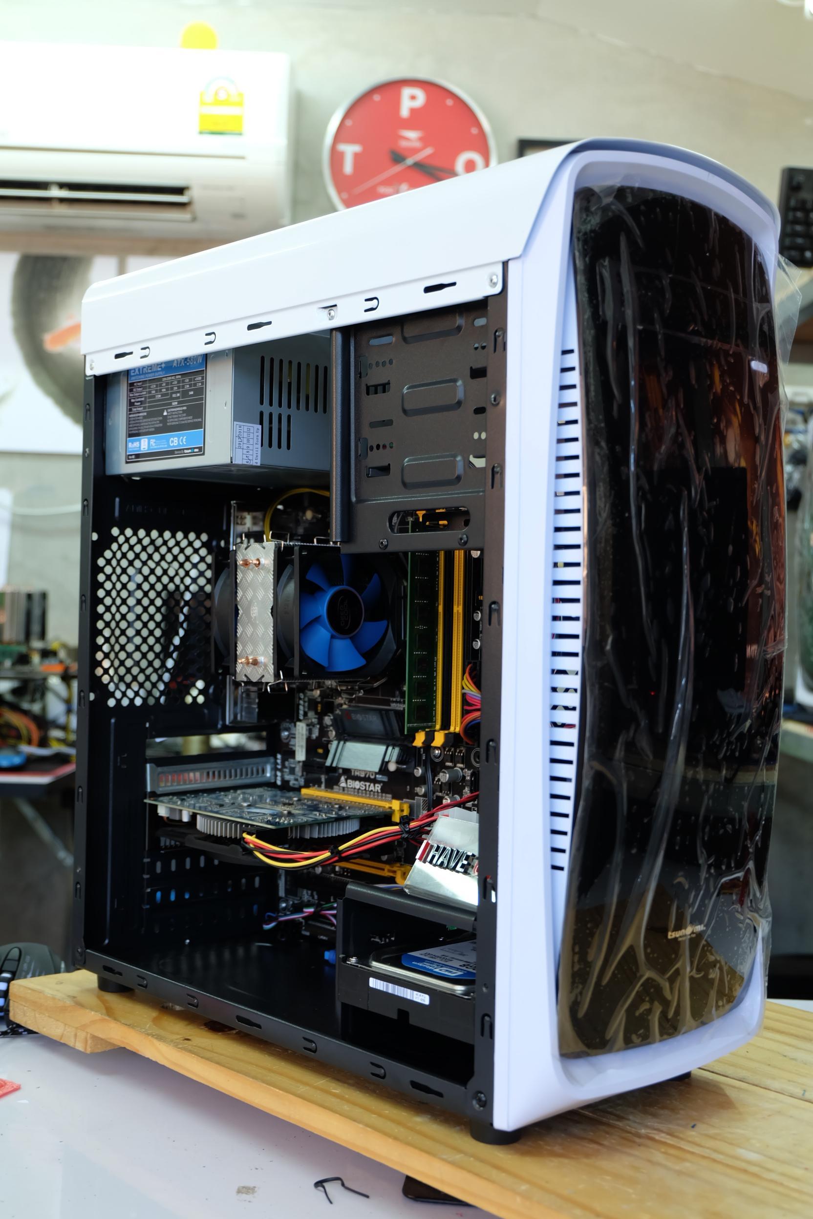 FX 6300 6 Core Turbo 4.1Ghz / Biostar TA970 / 8GB / GTX 650 / 320GB