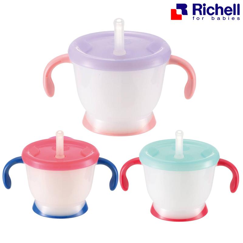 ถ้วยฝึกดูด Richell Aqulea Cup