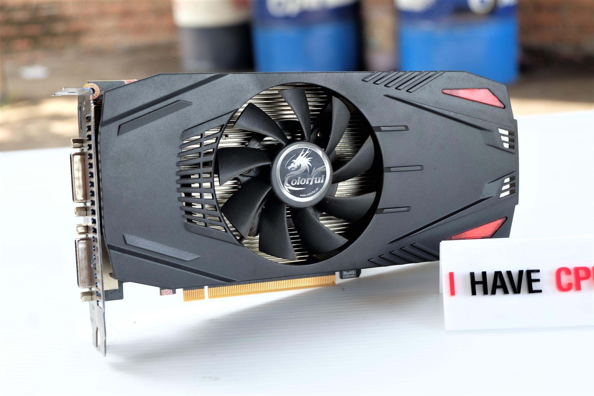 COLORFUL GeForce GTX 650 Ti 1GB