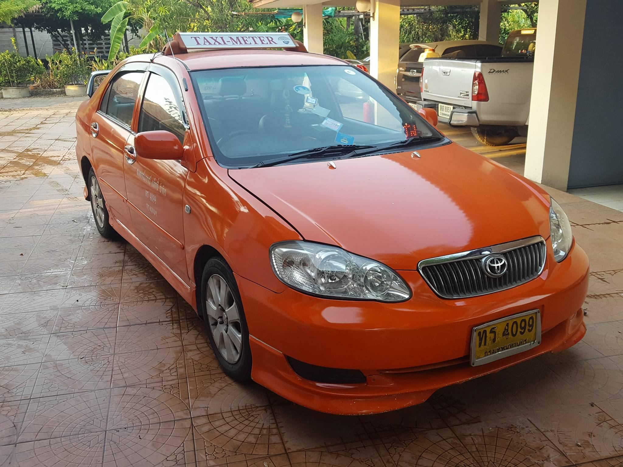 แท็กซี่มือสอง Altis J ปี 2006