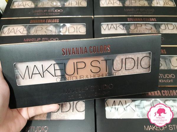 ขายส่งเครื่องสำอางค์ HF991 Sivanna Colors Makeup Studio Contour & Highlight ซีเวียน่า คัลเลอร์ส เมคอัพ สตูดิโอ คอนทัวร์ แอนด์ ไฮไลท์