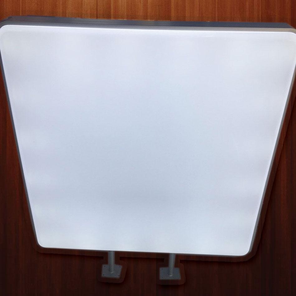 ตู้ไฟปั๊มนูนสี่เหลี่ยม ขนาด 103 x 103 cm (ราคารวม สติ๊กเกอร์)