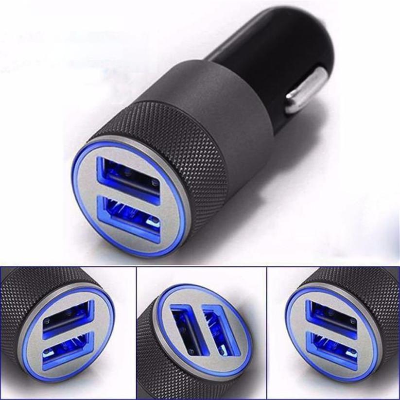 อุปกรณ์ชาร์จไฟ USB 2 ช่อง ในรถยนต์ Car Lighter Socket Charger