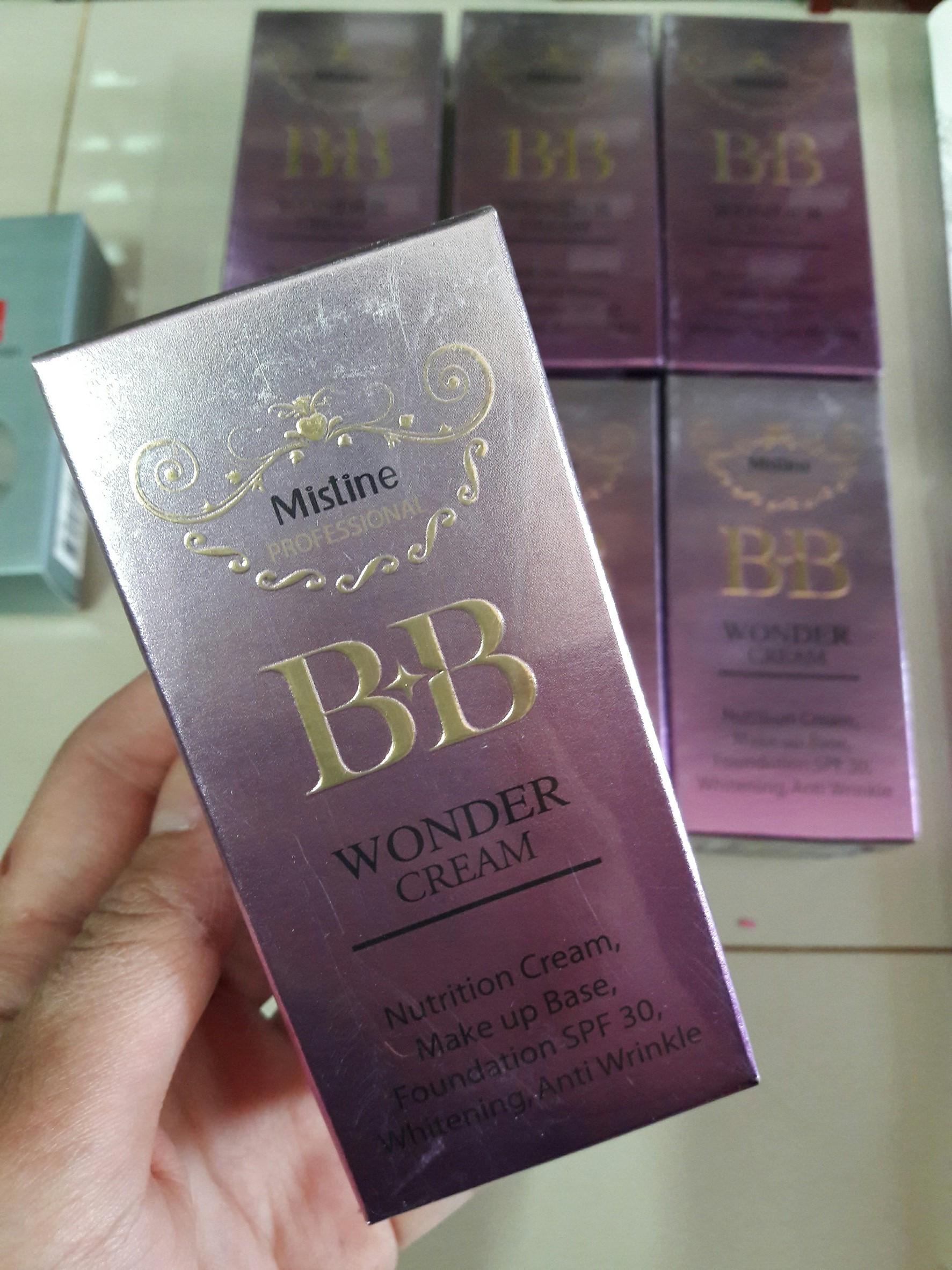 ขายส่ง Mistine BB Wonder Cream ครีมหน้าเนียน มิสทีน บีบี วันเดอร์ ครีม 7.5 กรัม