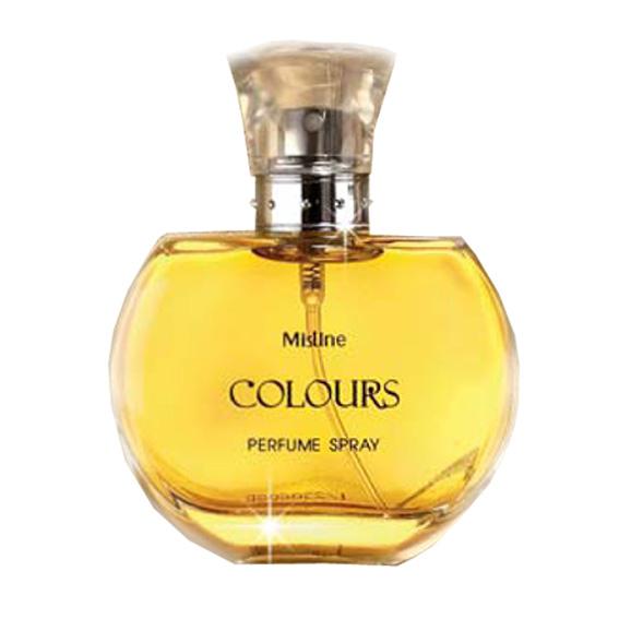 Mistine Colours Perfume Spray สเปรย์น้ำหอม สำหรับหญิงที่สาวโดเด่น ทันสมัย