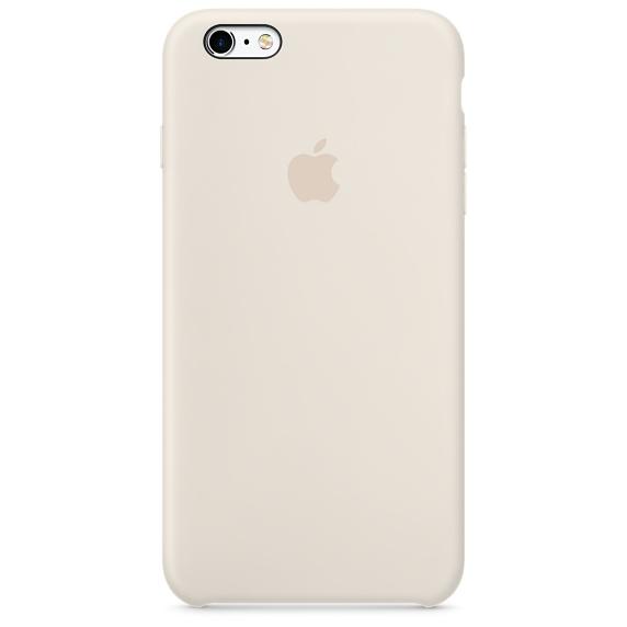 เคสซิลิโคน iPhone 6 Plus / 6s Plus - สีขาวแอนทีค ( Original )