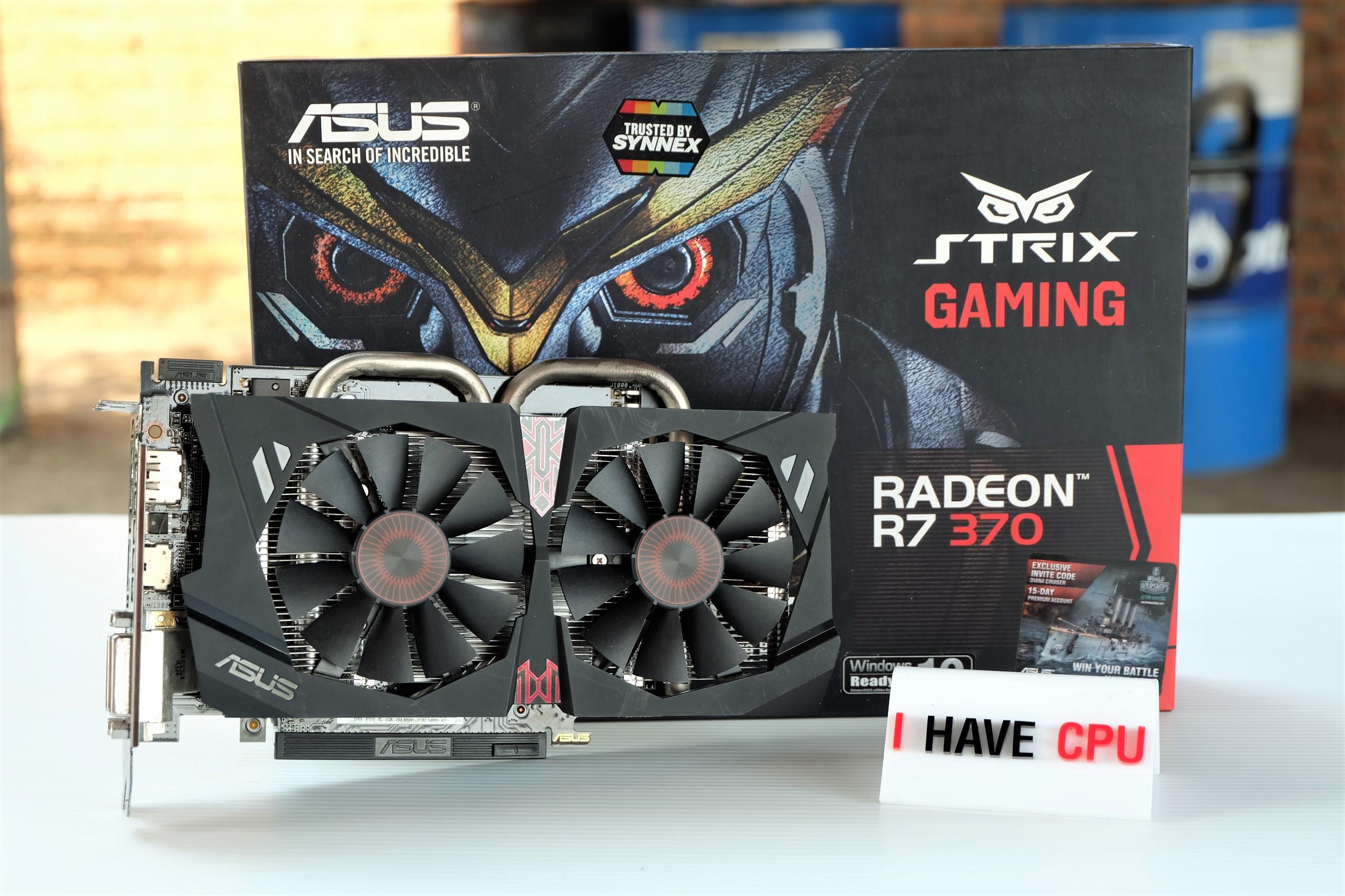 ASUS STRIX R7 370 4GB