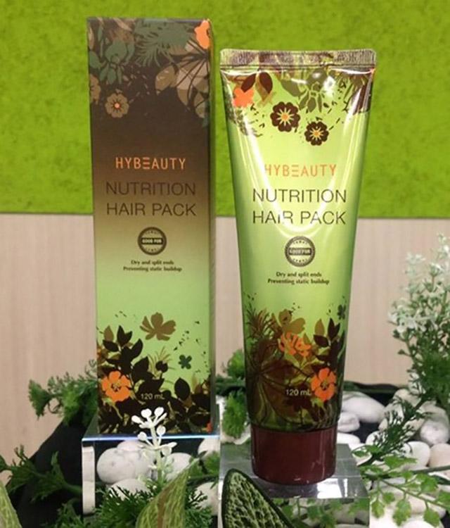 Hybeauty Nutrition Hair Pack ไฮบิวตี้ นูทริชั่น แฮร์ แพค 120 ml.