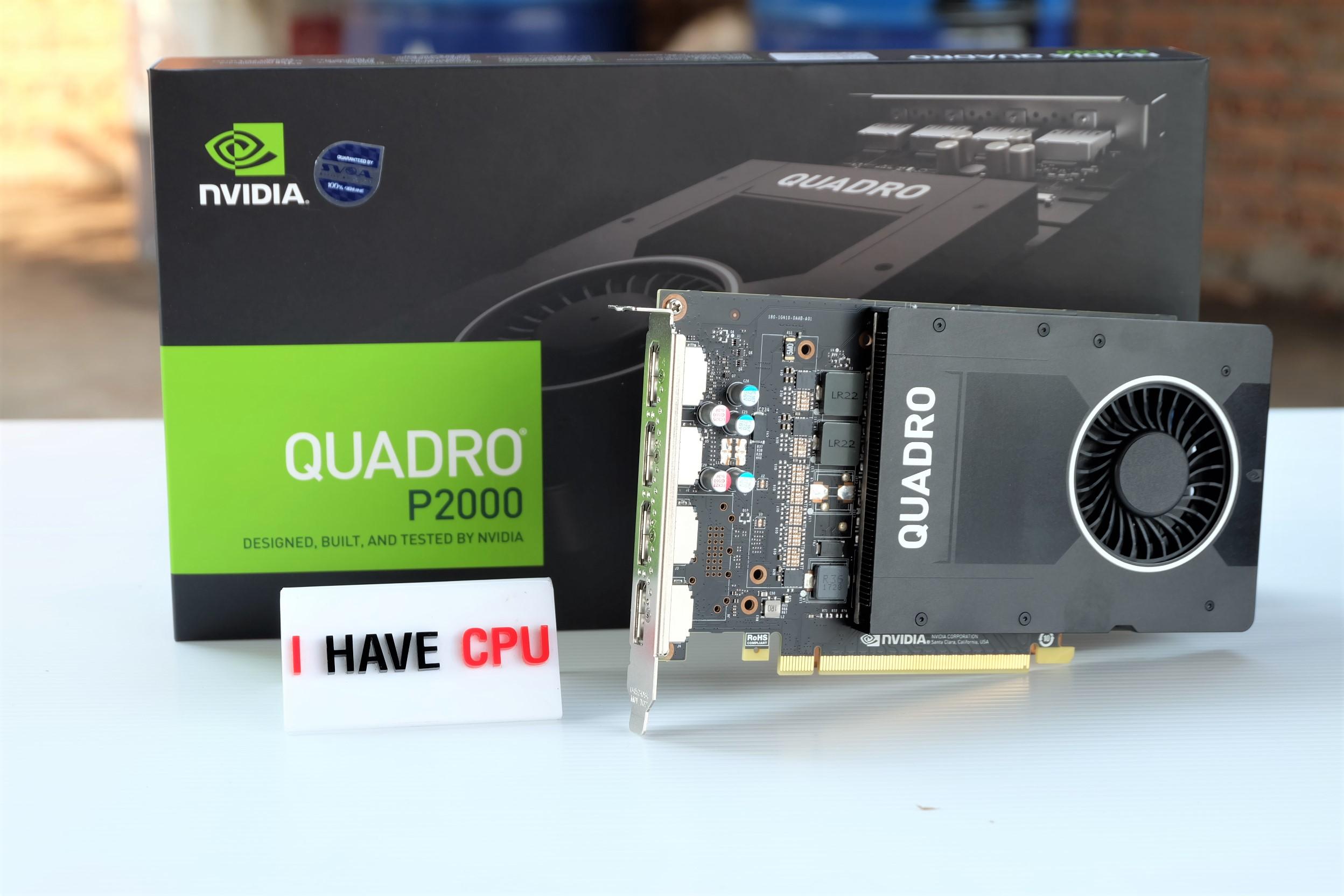 NVIDIA Quadro P2000 5GB GDDR5 ของใหม่