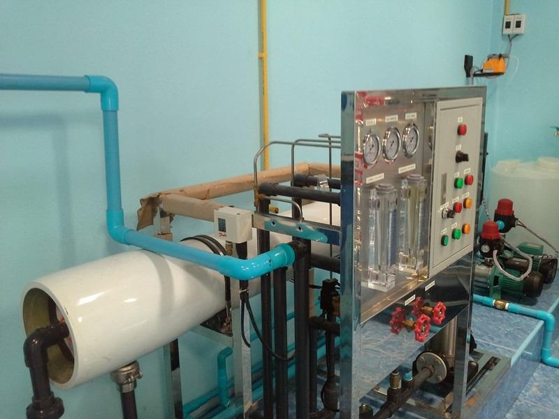 รับติดตั้งโรงงานผลิตน้ำดื่มขาย 24,000 ลิตร/วัน (ทั้งระบบ)