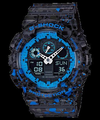 นาฬิกา CASIO G-SHOCK LIMITED EDITION รุ่น GA-100ST-2A ของแท้ รับประกัน 1 ปี
