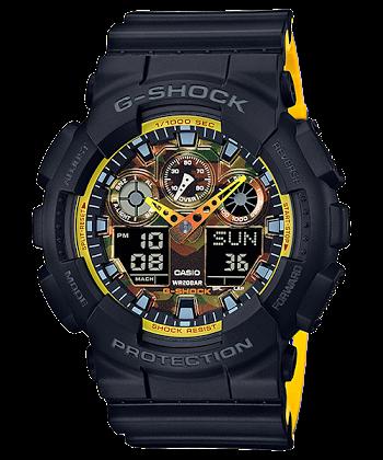 นาฬิกา CASIO G-SHOCK รุ่น GA-100BY-1A SPECIAL COLOR ของแท้ รับประกันศูนย์ 1 ปี