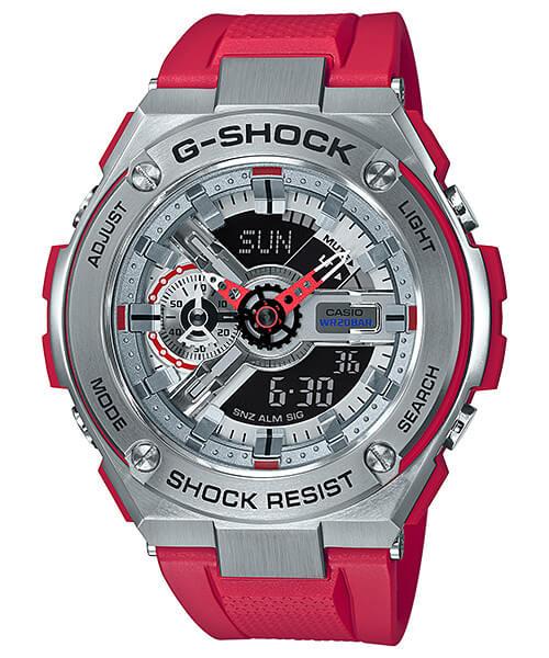 นาฬิกา Casio G-Shock G-STEEL GST-410 series รุ่น GST-410-4A (ไม่วางขายในไทย) ของแท้ รับประกันศูนย์ 1 ปี