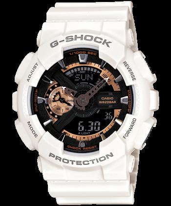 นาฬิกา CASIO G-SHOCK รุ่น GA-110RG-7A ROSEGOLD SPECIAL COLOR SERIES ของแท้ รับประกัน 1 ปี