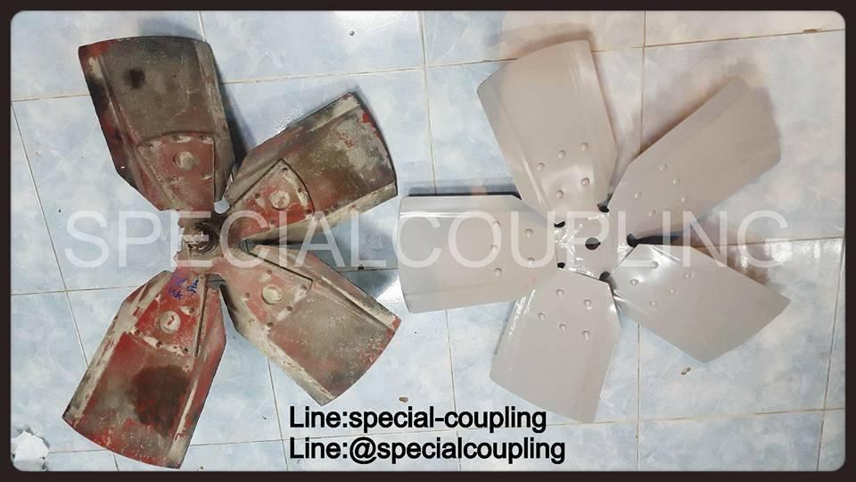 รับผลิตใบพัดลมมีเนียมอุตสาหกรรมตามตัวอย่าง พร้อมบาลานส์