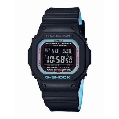 นาฬิกา Casio G-Shock Special Pearl Blue Neon Accent Color series รุ่น GW-M5610PC-1 (ไม่วางขายในไทย) ของแท้ รับประกันศูนย์ 1 ปี