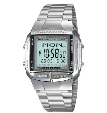 นาฬิกา CASIO ดิจิตอล สีเงินสายสแตนเลส รุ่น DB-360-1 STANDARD DIGITAL RETRO CLASSIC ของแท้ รับประกันศูนย์ 1 ปี