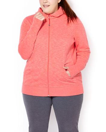 ( 2X หน้าอก 50-52 นิ้ว ) เสื้อคลุม สีส้ม มีฮูด น่ารักมากๆคะ