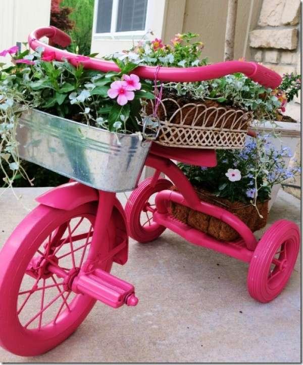 ไอเดียตกแต่งบ้านด้วยจักรยานคันเก่า 5
