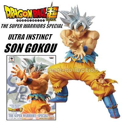 Goku Ultra Instinct ของแท้ JP แมวทอง - Super Warior Special Banpresto [โมเดลดราก้อนบอล]