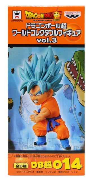 Goku Super Saiyan Blue ของแท้ JP แมวทอง - WCF Banpresto [โมเดลดราก้อนบอล]