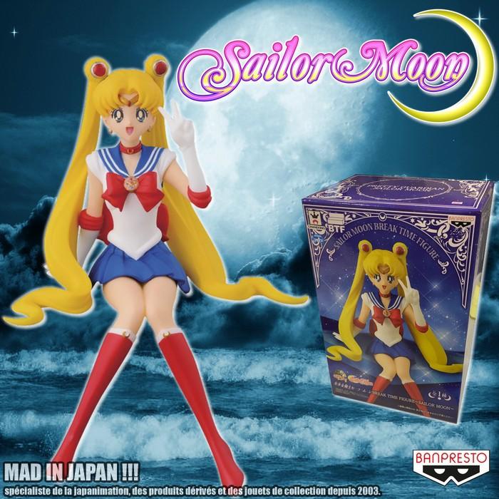 Sailor Moon ของแท้ JP - Break Time Figure Banpresto [โมเดล Sailor Moon]