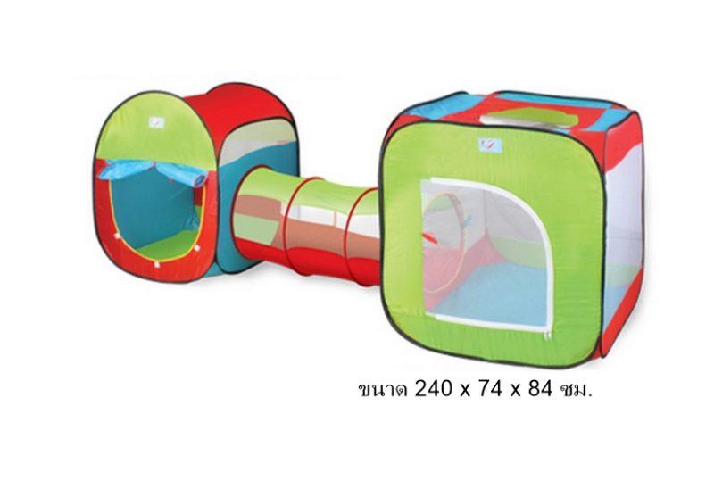 เต็นท์อุโมงบอล Tent play รุ่น Tent Series ส่งฟรี