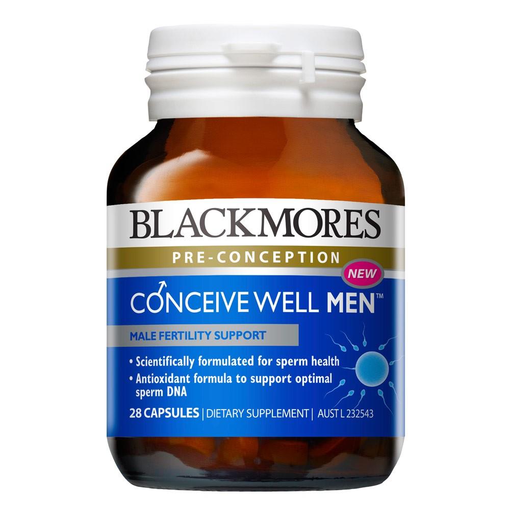 Blackmores Conceive Well Men วิตามินเตรียมพร้อมการมีบุตรสำหรับคุณผู้ชาย