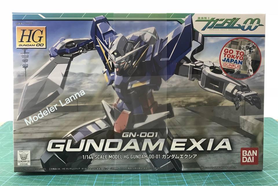 HG GN-001 GUNDAM EXIA 1/144 SCALE MODEL HG GUNDAM 00-01