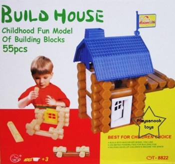 PS-1010 ตัวต่อสร้างบ้าน