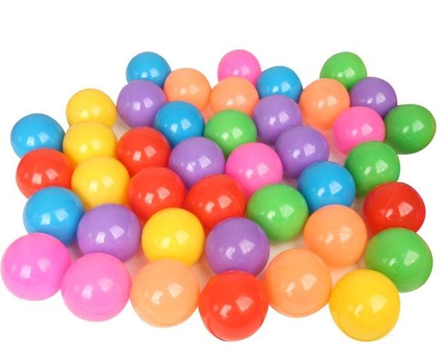 ลูกบอลหลากสี 100 ลูก ขนาด 2.8 นิ้ว ส่งฟรี
