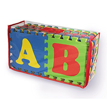 แผ่นรองคลาน A B C + 0-9 พร้อมกระเป๋าเก็บ ส่งฟรี