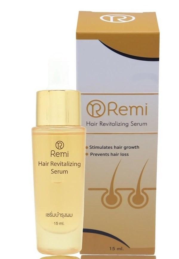 Remi Hair Revitalizing Serum เรมิ รีไวเทไลซิ่ง เซรั่มบำรุงผม