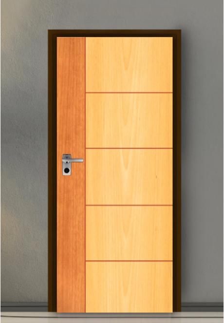 ประตู Leo iDoor Series3 LW-36-Royal Beech Cherry(ภายใน) 3.4*80*200 เมตร