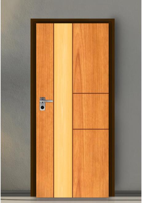 ประตู Leo iDoor Series2 LW-23-Cherry-Royal Beech(ภายใน) 3.4*80*200 เมตร