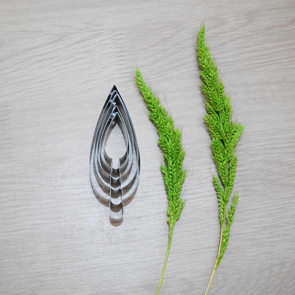 พิมพ์ตัด ใบท้อ (Peach leaf cutter)