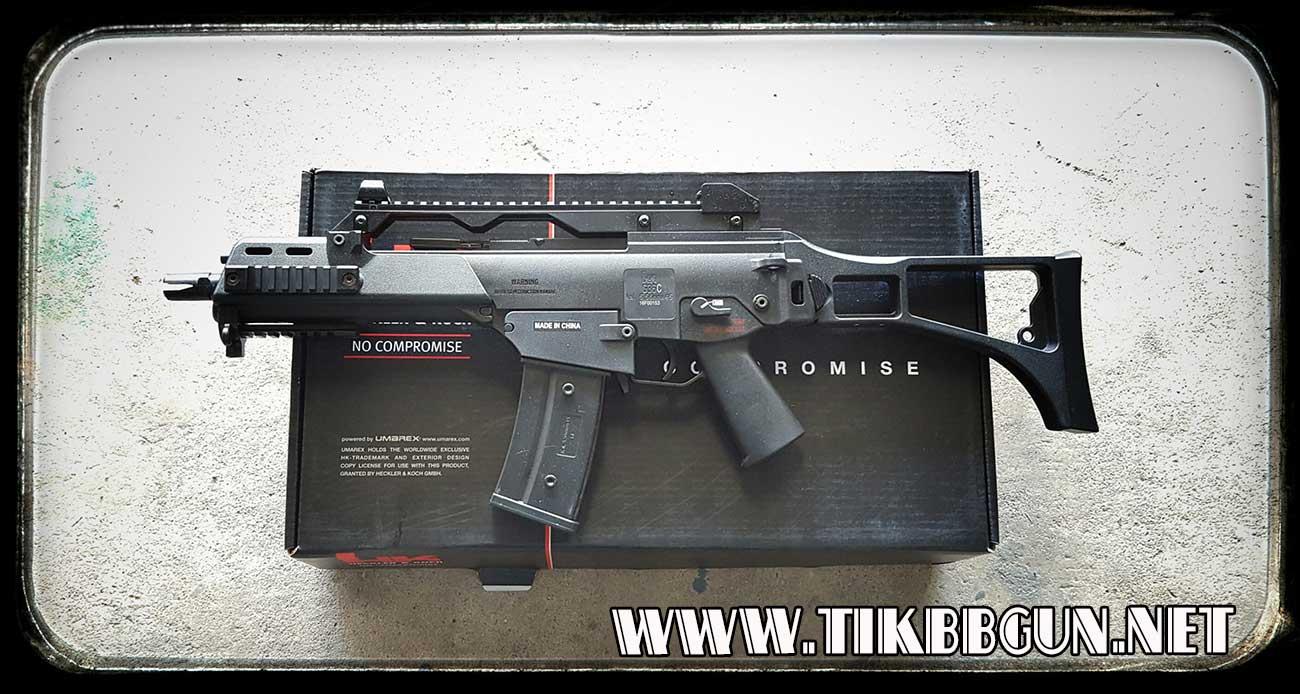 ปืนไฟฟ้ารุ่น G36C บอดี้พลาสติก มาร์คกิ้งครบสมจริง