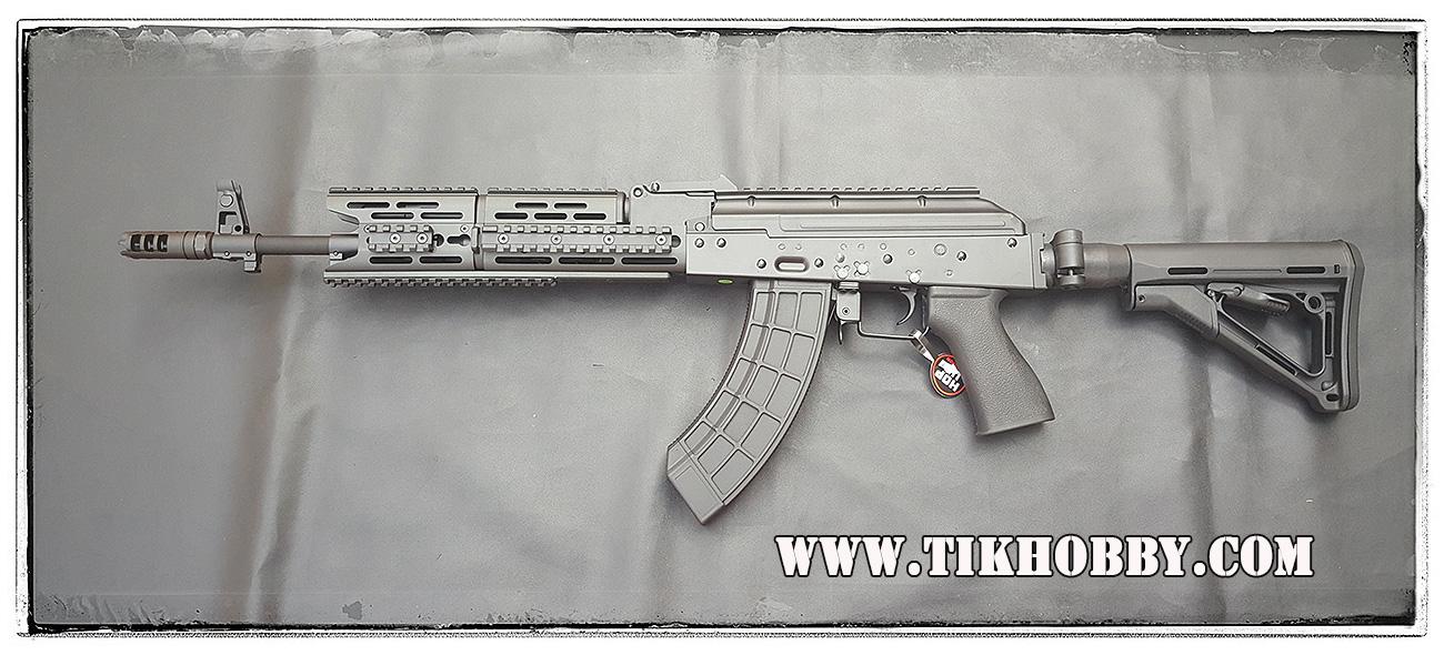 ปืนอัดลม ระบบไฟฟ้า AK CM076 Black จาก Cyma