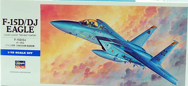 เครื่องบิน F-15D/DJ Eagle (1/72) Hasegawa (HA00435)
